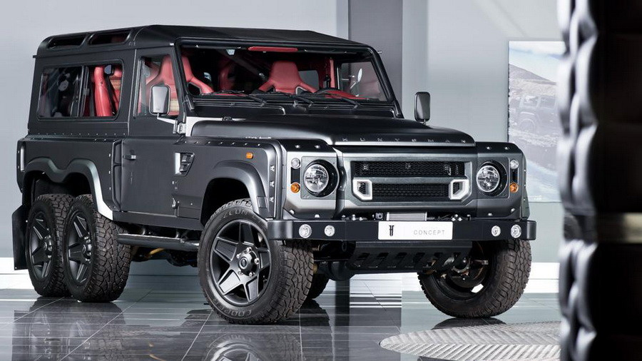 Kahn Land Rover Defender Flying Huntsman-001