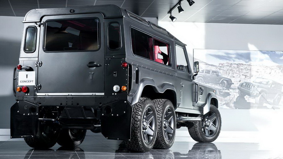 Kahn Land Rover Defender Flying Huntsman-002