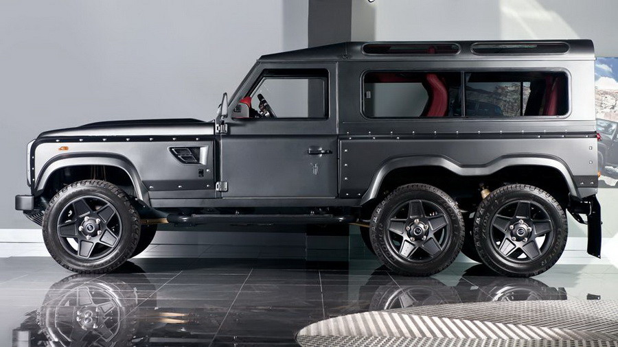 Kahn Land Rover Defender Flying Huntsman-004